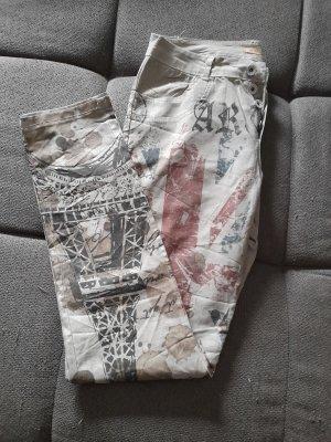 Boutique Ware Pantalone a sigaretta bianco