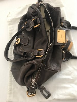 Chloé Bowling Bag brown leather