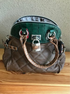 Bowling Bag brown-dark green