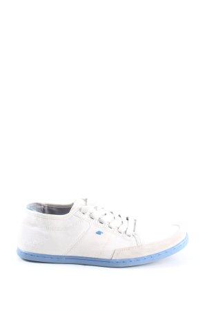 Boxfresh Sznurowane trampki biały-niebieski W stylu casual