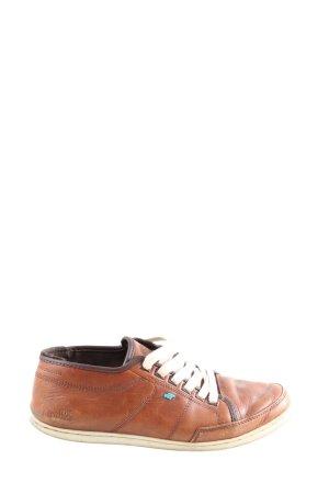 Boxfresh Sznurowane trampki brązowy W stylu casual