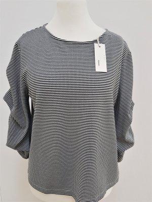 someday Sweatshirt blanc-noir