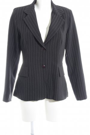 BoYco Smoking-Blazer schwarz-creme Nadelstreifen Business-Look