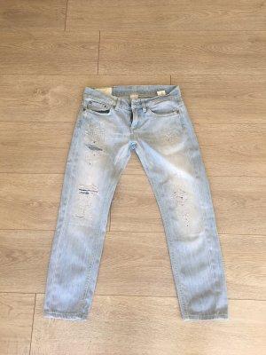 Dondup Jeans boyfriend bleu clair