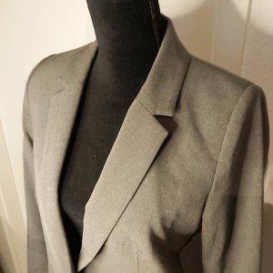 Mango Suit Boyfriend blazer grijs
