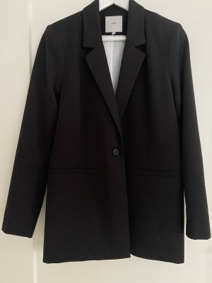 Minimum Boyfriend blazer zwart