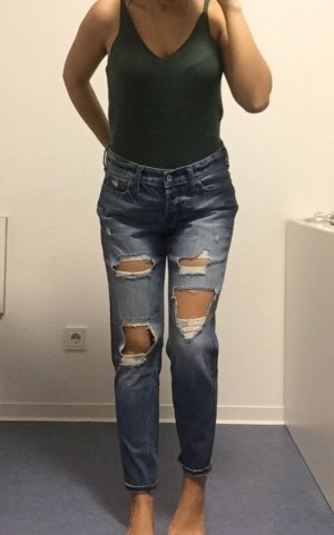 Boyfriend destroyed Jeans Hollister