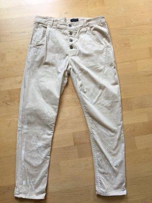 Vestino Boyfriend Jeans white-cream
