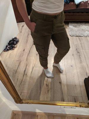 Tally Weijl Boyfriend Trousers olive green