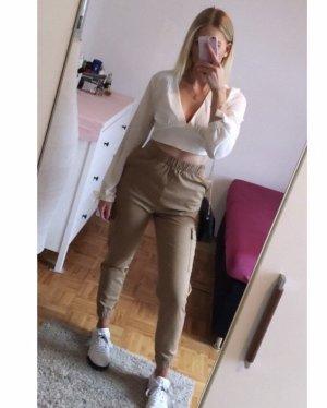 H&M Boyfriend Trousers beige