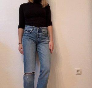 H&M Boyfriend jeans azuur
