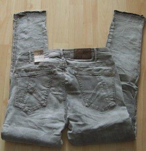 Boyfriend – Hose/Jeans von Nile – grau - Gr. S/M - S+