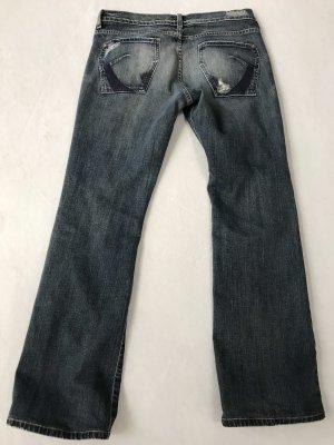 James jeans Pantalón boyfriend azul oscuro
