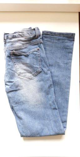 Boyfriend Trousers cornflower blue
