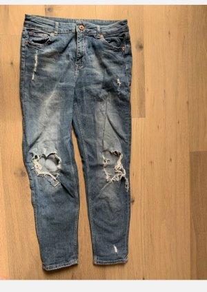 H&M Boyfriend Jeans dark blue