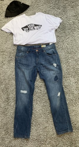 Takko Jeans boyfriend blu-blu scuro