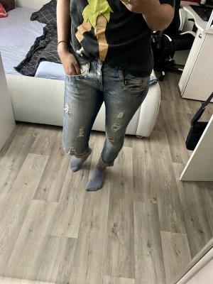 Herrlicher Jeans boyfriend azzurro