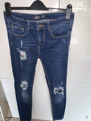 New Yorker Boyfriend Jeans dark blue