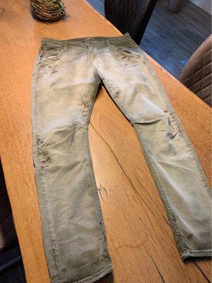 MAC Jeans Boyfriend Jeans green grey