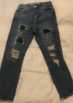 Denim & сo Jeans boyfriend bleu acier