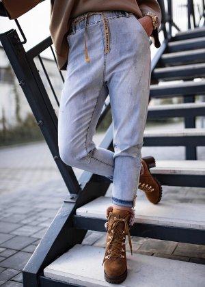 Bastet Boyfriend Jeans light blue