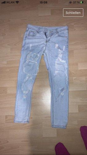 Boyfriend jeans azuur
