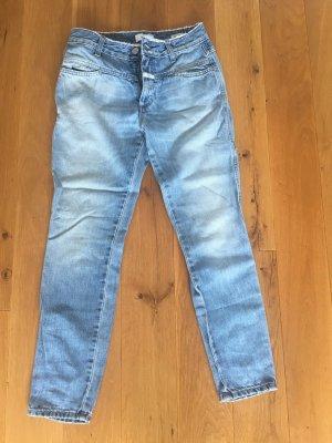 Closed Boyfriend Jeans slate-gray cotton