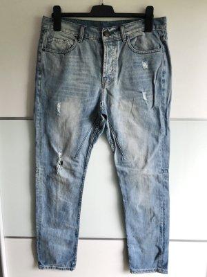 Boyfriend Jeans • destroyed Gr. 36/38