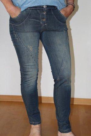 Boyfriend Jeans destroyed Gr. M