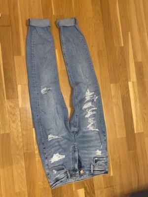 american eagle Jeans boyfriend bleu
