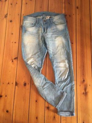 H&M Jeans boyfriend bleu