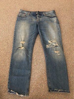 Boyfriend Jeans Low/Mid-Waist W28/L32