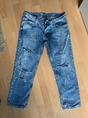 Boyfriend Jeans Ripped Jeans