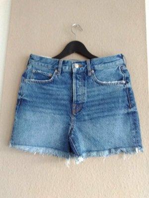 Boyfriend Jeans Shorts in sunset blue, Grösse 36, neu