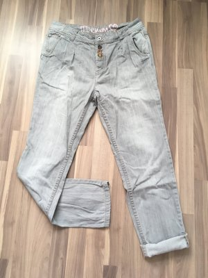 Boyfriend Jeans Tom Tailor Denim grau M 38