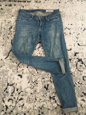 edc Jeans boyfriend bleu acier