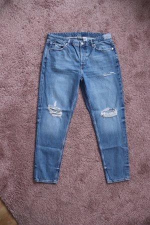 Boyfriend Jeans von H&M Größe 40 Used Look