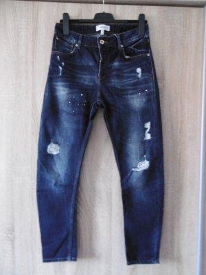 Mango Boyfriend Jeans dark blue