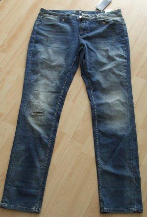 s.Oliver Boyfriend Jeans blue