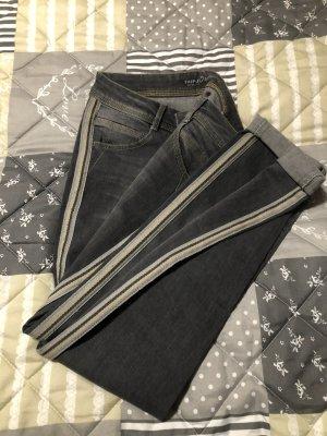 Taifun Jeans boyfriend gris coton