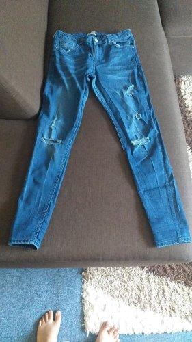 Boyfriend Trousers steel blue