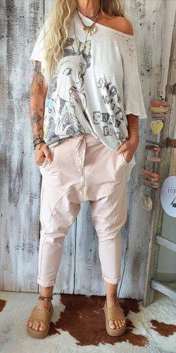 Boyfriend Trousers dusky pink cotton