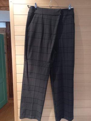 Zara Harem Pants dark brown-brown mixture fibre