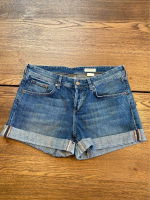 H&M Boyfriend Trousers blue