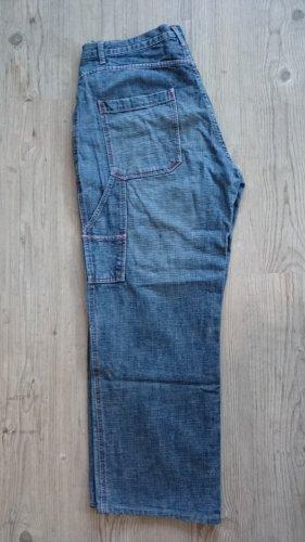 Baggy jeans leigrijs Katoen
