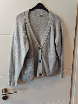 Noisy May Cardigan in maglia grigio chiaro