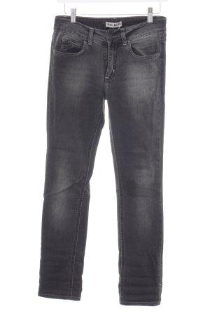 Boyfriend Jeans dark grey-grey street-fashion look
