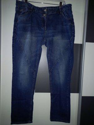 Gina Benotti Boyfriend Trousers blue