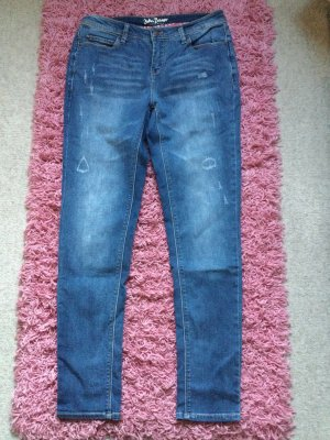 John Baner Jeans boyfriend blu acciaio
