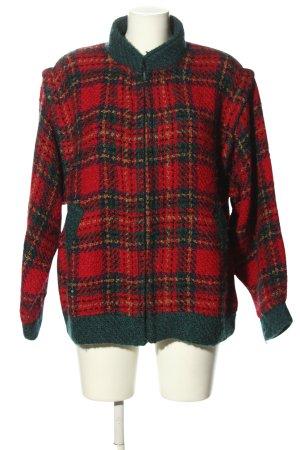 Boyne Valley Weavers Veste en laine motif à carreaux style décontracté